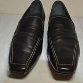 Женские кожаные туфли Marc O*polo (Италия) 42 р.стелька 28.5 см.