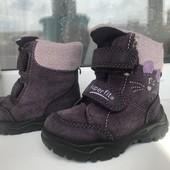 Ботиночки зимние Superfit 19 размер,фиолетовые