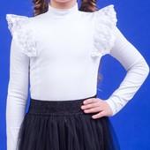 Блуза для девочки zironka рост 128, 134, 140, 146, 152, 158, 164 Зиронька
