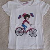 Новые летние футболки и топы для девочек
