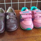 Взуття для двору, туфлі Clarks шкіра і кросівки
