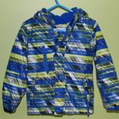 Куртка еврозима итальянской фирмы OVS на 5-6-7 лет.