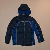 Куртка дутик - пуховик , размер указан 5-6, но большемерит
