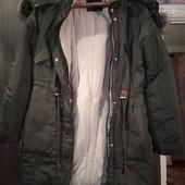 Как Новая,без дефектов! Очень крутая куртка парка тепла я в увете знаки от Amisu