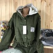 Куртка женская парка!, размер ХХЛ(наш 48-50), смотрите замеры в лоте!!