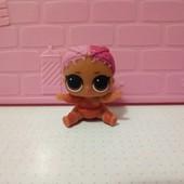 кукла лол мини сестричка оригинал!меняет цвет!