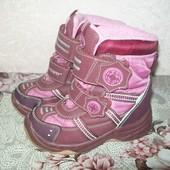 Зимние ботинки SuperFit для девочки 27 размер (16,5 см).