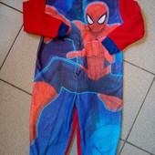 """""""Человек паук """"√√ флисовый слип ,без дефектов."""