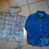 Topolino √√ две стильные рубашки одним лотом √√ без дефектов.