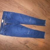 стильные стрейчевые джинсы для модницы * Sfera *7/8 лет рост 122/128 см хорошего сост