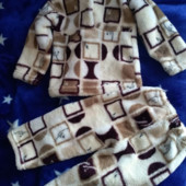 Пижама новая, махровая, очень мягенькая