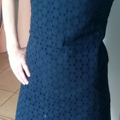 100% котон Милое платье с перламутровыми пуговицами Размер XS-S