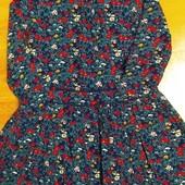 Платье из штапеля с подкладкой.