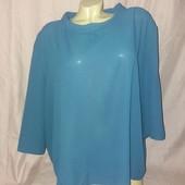 Элегантная блуза Elvi креп шифон р 24 (52-54) новая