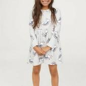 Новое нежное платье бренда H&M из Англии, 8-10 лет!