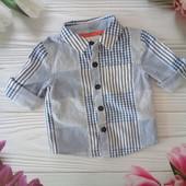 Очаровательная рубашечка на парнишу 3-4 месяцев ✿ Jasper Conran ✿ собирайте лоты