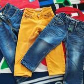 Дуже стильні джинси на маленького модника на 1, 5-2, 5 р. Одні на вибір або всі 3 пари за бліц