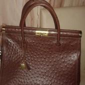 Италия, натуральная кожа! Фирменная сумка в отличном состоянии.