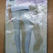 Класнючие! Мягусенькие хлопковые леггенсы для вашей девчушки! 116 см.