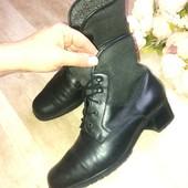 Демисезонные ботинки Gabor, натур кожа