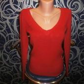 обалденный пуловер*Basic* р.46 прекрасного сост.