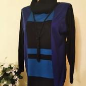 Шикарнейший свитер весна- осень Люксовый сток дорогая моделька