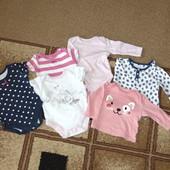 Будь-який комплект одягу від 0-6 місяців!! За ціною лота!!! Вибираємо!!!
