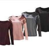 Сток!!! Стильные блузы из Премиум коллекции! 40/42 евро, полномер, цвет на выбор, в описании!