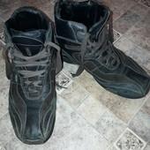 Кожаные ботинки Geox еврозима размер 43 евро, наш 42