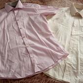 Рубашки на подростка 2шт на рост 165 и больше