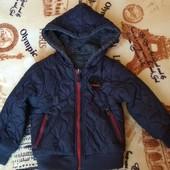 Куртка для хлопчика в чудовому стані (не секонд)- двостороння