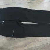 Стрейчевые черные штаны-ПОБ-52-62см. Чудов.стан.