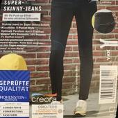 Крутые джинсы Super skinny fit Esmara размер евро 36