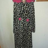 Плюшевый слип пижама L/XL замеры на фото