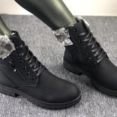 Зимние ботинки на меху. Супер качество!!