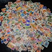 Почтовые марки разных стран мира. 330 шт. (одним лотом!)