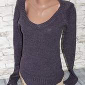 свитер красивого баклажанового цвета,terranova отличный по качеству!