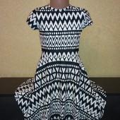 Фирменное трикотажное платье YD, размер на 7-8 лет, на рост 122-128см, качественное, мерки есть