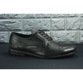 Кожаные мужские туфли Инспектор, распродажа последних размеров -70%