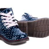 Очень класные демисизонные ботиночки для девочек С.Луч.Размеры