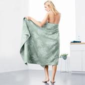☘ Большое шикарное махровое полотенце из хлопка от Tchibo (Германия), размер: 100 х 200 см