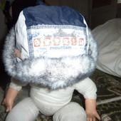 Шапка ушанка зимняя на флисе для мальчика