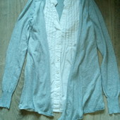 Блузка с кофтой 2в1 р.с в хорошем состоянии