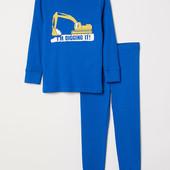 Пижама H&M 122-128 (6-8 лет). Качество премиум. Новая с биркой.