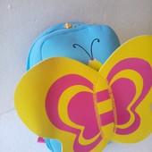 Красивый рюкзак бабочка 300*250*100