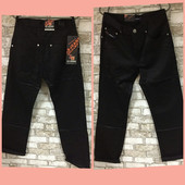 Р. 28,33,34 Распродажа!! Мужские джинсы-брюки черные , Турция, замеры в описании