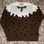 Новогодний свитерок XL