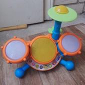Барабанная установка - развивающая интерактивная панель