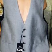 Собираем лоты!! Новый, фирменный мужской жилет, размер 46R(58)