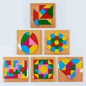 """Деревянная игра головоломка """"Логика"""" ! 5 видов : Танграм, Тетрис, Яйцо, Колумба и др. - 1 на выбор!"""
